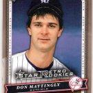 DON MATTINGLY 2005 Upper Deck Classics Retro Rookies SHORT PRINT Card #110 YANKEES FREE SHIPPING