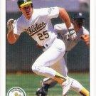 MARK MCGWIRE 1990 Upper Deck Card #171 OAKLAND A'S Baseball FREE SHIPPING 171
