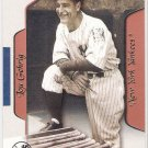 LOU GEHRIG 2003 Fleer Flair Greats Card #83 NEW YORK YANKEES Baseball FREE SHIPPING 83 HOF