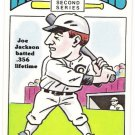 SHOELESS JOE JACKSON 1980 R.G. Laughlin 2nd Series Card #24 CHICAGO WHITE SOX Baseball FREE SHIPPING