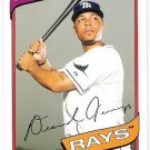 DESMOND JENNINGS 2012 Topps Archives Card #118 TAMPA BAY RAYS Baseball FREE SHIPPING 118