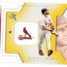 ALBERT PJUOLS 2002 Fleer E-X Behind The Numbers INSERT Card #19BN ST LOUIS CARDINALS FREE SHIPPING