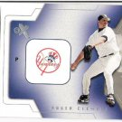 ROGER CLEMENS 2002 Fleer E-X Behind The Numbers INSERT Card #16BN NEW YORK YANKEES FREE SHIPPING