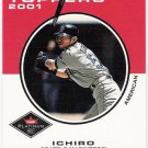 ICHIRO SUZUKI 2001 Fleer Platinum RC Card #416 SEATTLE MARINERS Baseball FREE SHIPPING 416