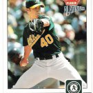 RICH HARDEN 2004 Fleer Platinum SHORT PRINT Card #151 OAKLAND A's Baseball FREE SHIPPING 151