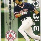 NOMAR GARCIAPARRA & MANNY RAMIREZ 2003 Fleer Ultra Double Up INSERT Card #11DU BOSTON RED SOX