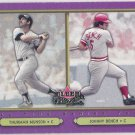 JOHNNY BENCH & THURMAN MUNSON 2002 Fleer Fall Classics Card #95 CINCINNATI REDS FREE SHIPPING 95