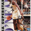 SHAQUILLE O'NEAL 1993-94 Fleer Superstars INSERT Card #16 ORLANDO MAGIC Basketball SASE RC 16 Shaq