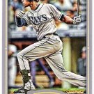 B.J. UPTON 2012 Topps Gypsy Queen MINI Parallel Card #330 TAMPA BAY RAYS Baseball FREE SHIPPING