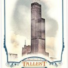 WILLIS TOWER 2012 Topps Allen & Ginter World's Tallest Buildings INSERT Card #WTB4 Baseball SASE An