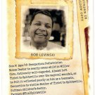 BOB LEVINSKY 2012 Topps Allen & Ginter Murder In Willow Cove INSERT Card FREE SHIPPING Code
