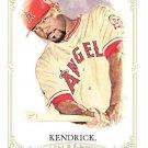 HOWIE KENDRICK 2012 Topps Allen & Ginter SHORT PRINT Card #350 LOS ANGELES ANAHEIM ANGELS FREE SHIP