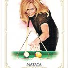 EWA MATAYA 2012 Topps Allen & Ginter Card #45 Billiards FREE SHIPPING Baseball A&G 45