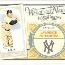 YOGI BERRA 2012 Topps Allen & Ginter What's In A Name INSERT Card #WIN10 NEW YORK YANKEES And A&G