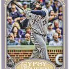 PRINCE FIELDER 2012 Topps Gypsy Queen Card #160 DETROIT TIGERS Baseball FREE SHIPPING