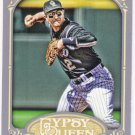 TROY TULOWITZKI 2012 Topps Gypsy Queen Card #69 COLORADO ROCKIES Baseball FREE SHIPPING