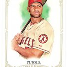 ALBERT PUJOLS 2012 Topps Allen & Ginter Card #1 Los Angeles ANAHEIM ANGELS Baseball FREE SHIPPING 1
