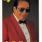 GORILLA MONSOON 1990 Classic WWF Wrestling Card #52 Announcer WWE WCW NWA AWA FREE SHIPPING 52
