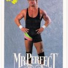 MR PERFECT CURT HENNIG 1990 Classic WWF Wrestling Card #19 WWE NWA WCW AWA FREE SHIPPING 19