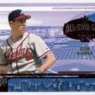 GREG MADDUX 2001 Upper Deck Midseason Superstar Summit INSERT Card #MS6 ATLANTA BRAVES FREE SHIPPING