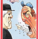 MANAGER ARGUING WITH UMPIRE 2012 Panini Triple Play Sticker Card #8 Baseball FREE SHIPPING