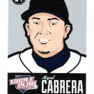 MIGUEL CABRERA 2012 Panini Triple Play Card #29 DETROIT TIGERS Baseball FREE SHIPPING