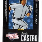 STARLIN CASTRO 2012 Panini Triple Play PUZZLE PIECE Back Card #102 3 of 9 CHICAGO CUBS FREE SHIPPING