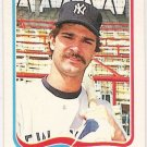 DON MATTINGLY 1985 Fleer Star Sticker Card #4 NEW YORK YANKEES Baseball FREE SHIPPING