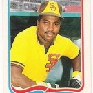 TONY GWYNN 1985 Fleer Star Sticker Card #8 SAN DIEGO PADRES Baseball FREE SHIPPING 8