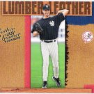 RANDY JOHNSON 2005 Donruss Leather & Lumber INSERT Card #LL-23 NEW YORK YANKEES #'d 638/2000