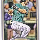 DUSTIN ACKLEY 2012 Topps Gypsy Queen Straight Cut Back Mini INSERT Card #278 SEATTLE MARINERS