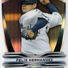 FELIX HERNANDEZ 2012 Bowman Chrome Legends In The Making Die Cut INSERT Card LIM-FH SEATTLE MARINERS