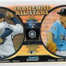 FELIX HERNANDEZ & DANNY HULTZEN 2012 Bowman CHROME Franchise All Stars INSERT Card #FAS-HH SEATTLE