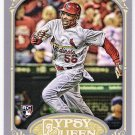ADRON CHAMBERS 2012 Topps Gypsy Queen ROOKIE Card #208 ST LOUIS CARDINALS Baseball SASE RC 208