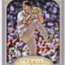 DREW POMERANZ 2012 Topps Gypsy Queen ROOKIE Card #127 COLORADO ROCKIES Baseball FREE SHIPPING