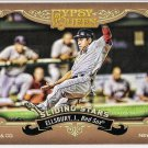 JACOBY ELLSBURY 2012 Topps Gypsy Queen Sliding Stars INSERT Card #SS-JE BOSTON RED SOX FREE SHIPPING