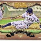 IAN KINSLER 2012 Topps Gypsy Queen Sliding Stars INSERT Card #SS-IK TEXAS RANGERS Baseball SS-IK