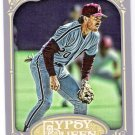 MIKE SCHMIDT 2012 Topps Gypsy Queen Card #258 PHILADELPHIA PHILLIES Baseball FREE SHIPPING 258