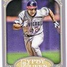 RYNE SANDBERG 2012 Topps Gypsy Queen Card #257 CHICAGO CUBS Baseball FREE SHIPPING 257