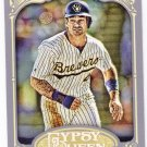 PAUL MOLITOR 2012 Topps Gypsy Queen Card #247 MILWAUKEE BREWERS Baseball FREE SHIPPING 247