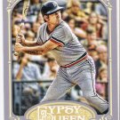 AL KALINE 2012 Topps Gypsy Queen Card #242 DETROIT TIGERS Baseball FREE SHIPPING