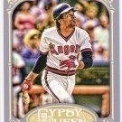 ROD CAREW 2012 Topps Gypsy Queen Card #268 LOS ANGELES ANAHEIM ANGELS Baseball FREE SHIPPING