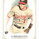 STEVE LOMBARDOZZI 2012 Topps Allen & Ginter ROOKIE Card #240 WASHINGTON NATIONALS FREE SHIPPING