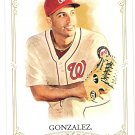 GIO GONZALEZ 2012 Topps Allen & Ginter SHORT PRINT Card #336 WASHINGTON NATIONALS FREE SHIPPING