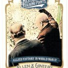 ALLIED VICTORY IN WORLD WAR 2 2012 Topps Allen & Ginter Historical Turning Points INSERT Card #HTP8