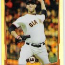MADISON BUMGARNER 2012 Bowman Chrome REFRACTOR Insert Card #105 SAN FRANCISCO GIANTS FREE SHIPPING