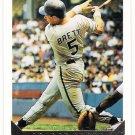 GEORGE BRETT 1993 Topps GOLD Insert Card #397 KANSAS CITY ROYALS Baseball FREE SHIPPING 397