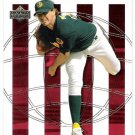 BARRY ZITO 2002 Upper Deck World Series Heroes Future INSERT Card #142 OAKLAND A'S Baseball SASE 142