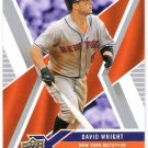 DAVID WRIGHT 2008 Upper Deck X Card #62 NEW YORK METS Baseball FREE SHIPPING 62