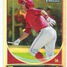KALEB COWART 2013 Bowman Chrome Cream of the Crop Mini Refractors INSERT Card #CC-A1 Anaheim Angels